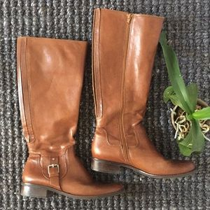 Matisse Riding Boots with Silver Buckle